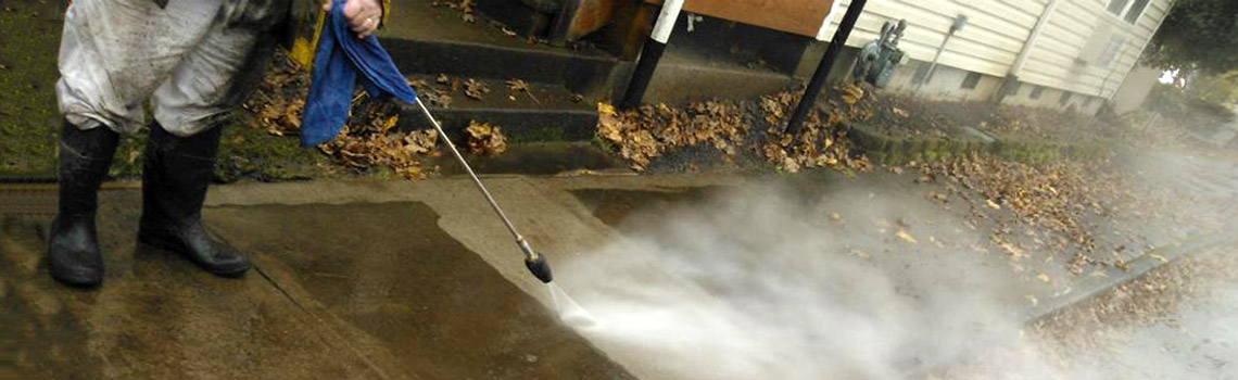 Pressure washing done right – more than 28 years experience!